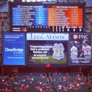 MLB, trespass at orioles baseball game